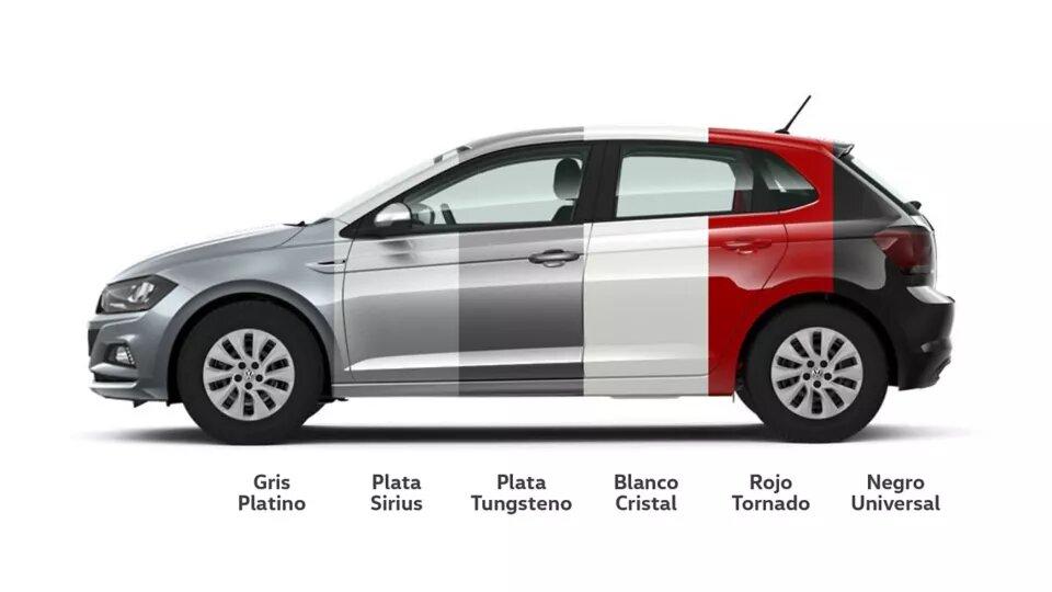 Elegí tu color favorito | Andina Volkswagen