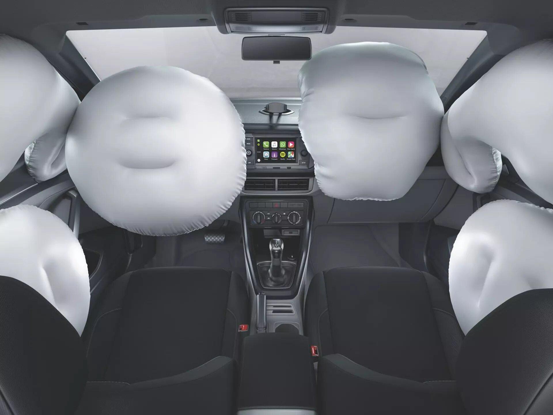 Airbags | Nuevo T-Cross | Andina Volkswagen