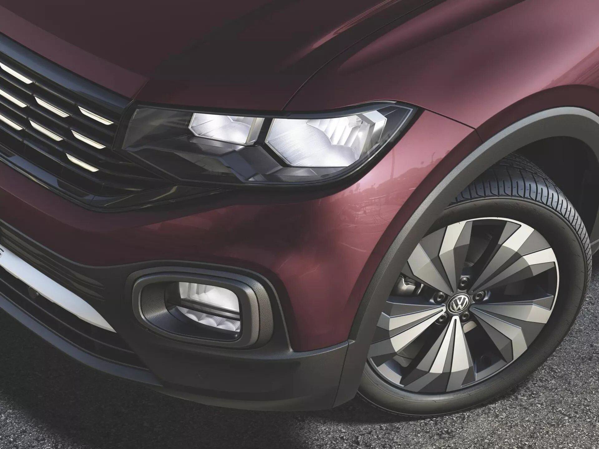 Alerta de presión de neumáticos | Nuevo T-Cross | Andina Volkswagen