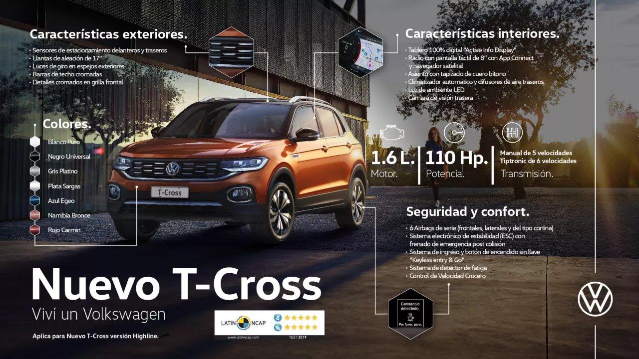 Nuevo T-Cross | Andina Volkswagen