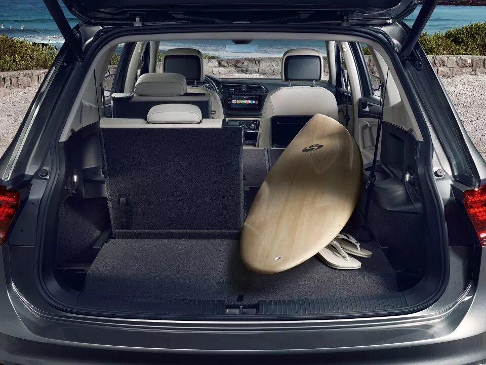Asientos completamente plegables | Volkswagen Tiguan Allspace | Andina Volkswagen