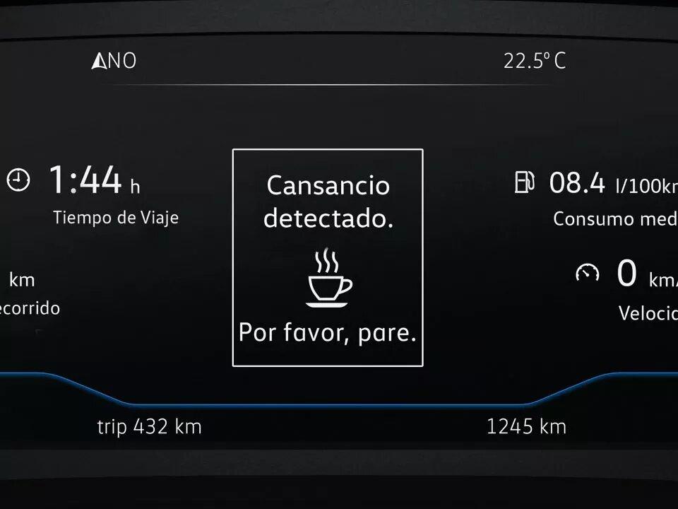 Detector de fatiga | Volkswagen Tiguan Allspace | Andina Volkswagen