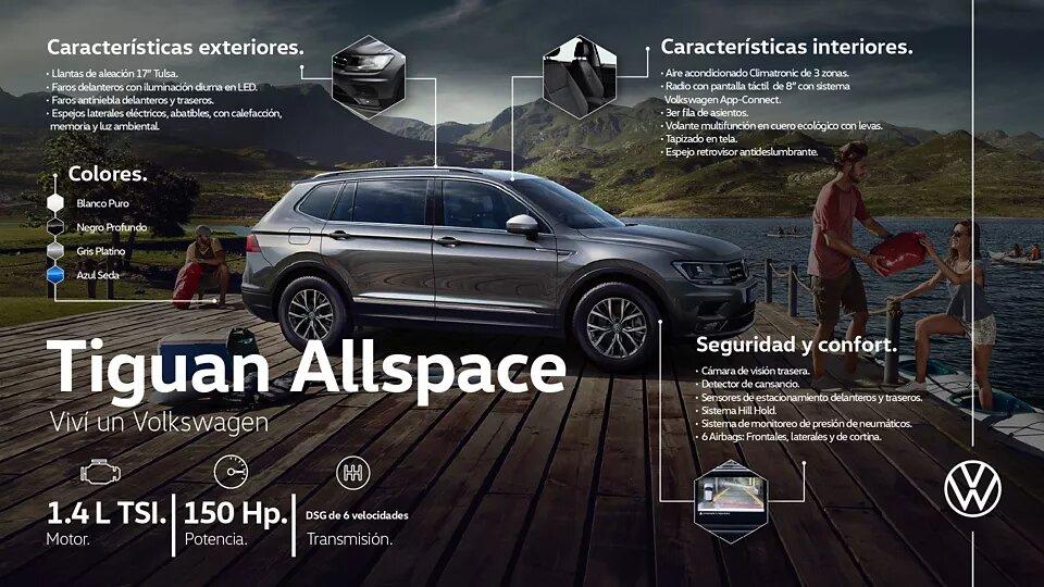 Volkswagen Tiguan Allspace | Andina Volkswagen