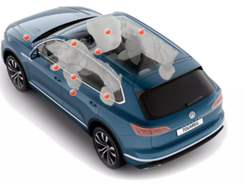 Airbags | Nuevo Volkswagen Touareg | Andina Volkswagen