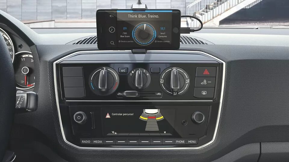 Composition Phone | up! | Andina Volkswagen