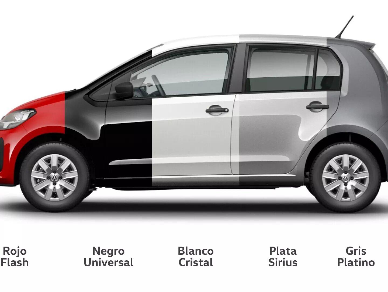 Colores | up! | Andina Volkswagen