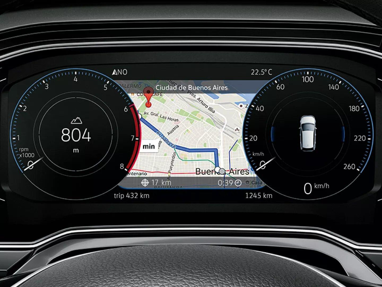 Active info display | Nuevo Virtus GTS | Andina Volkswagen
