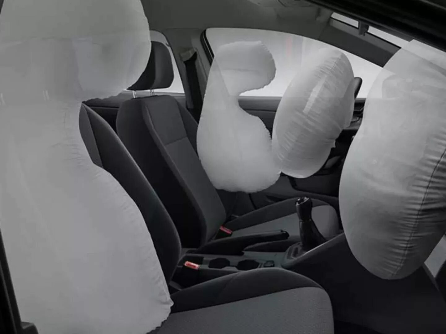 Airbags frontales y laterales | Nuevo Virtus GTS | Andina Volkswagen