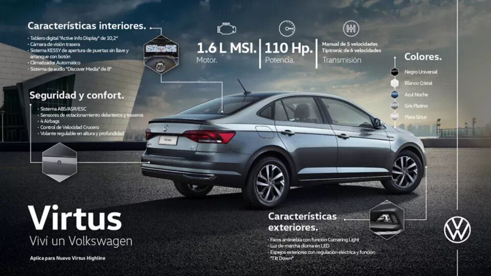 Nuevo Virtus GTS | Andina Volkswagen